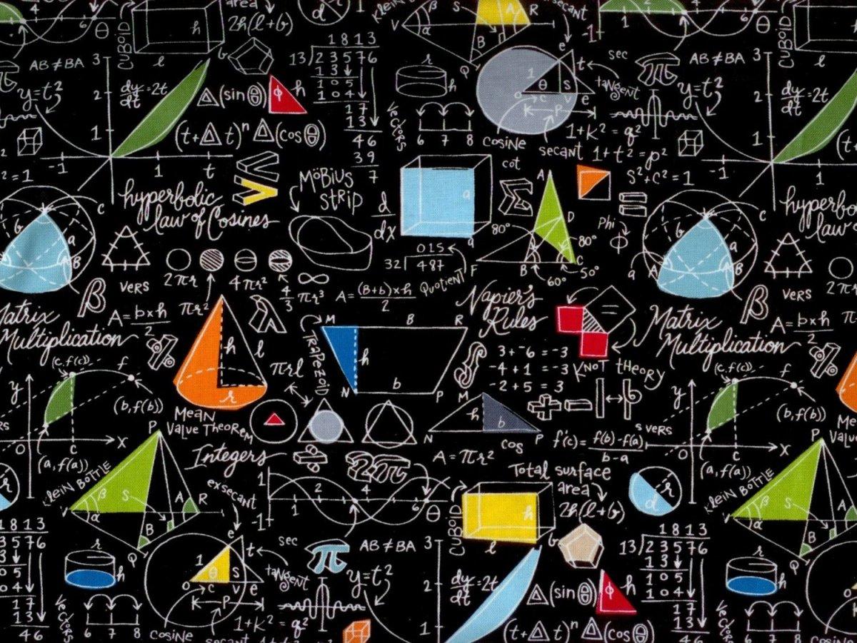 Математические формулы фон