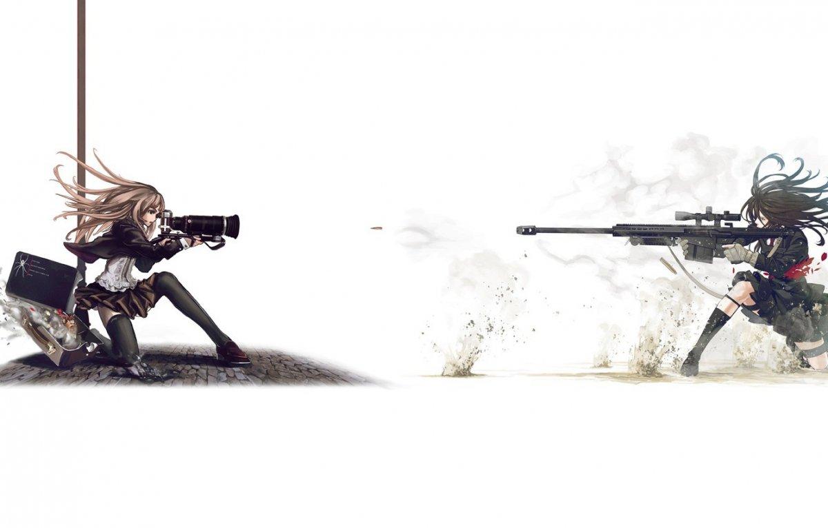 Магическая снайперская винтовка арт