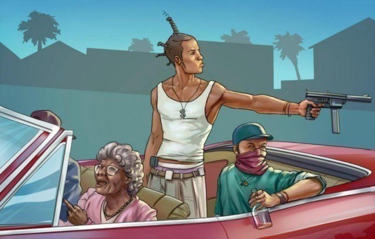 Арт гангстер гетто