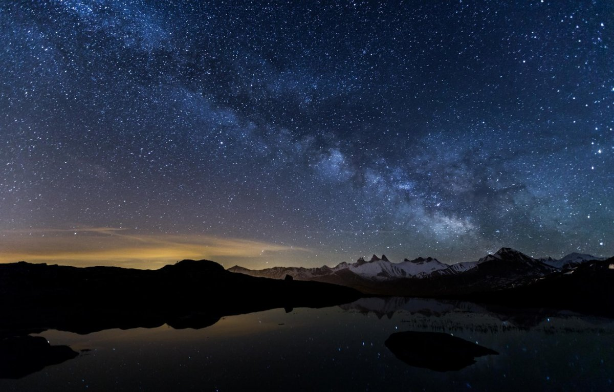 Фон ночь звезды