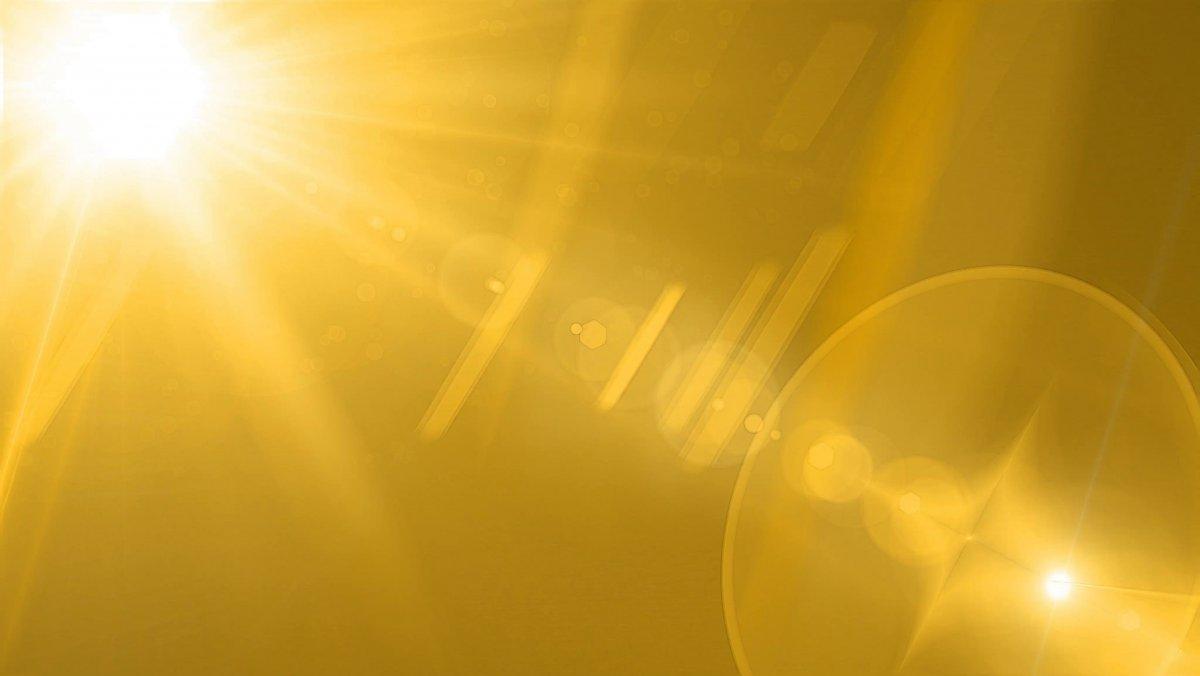 Фон золотые лучи