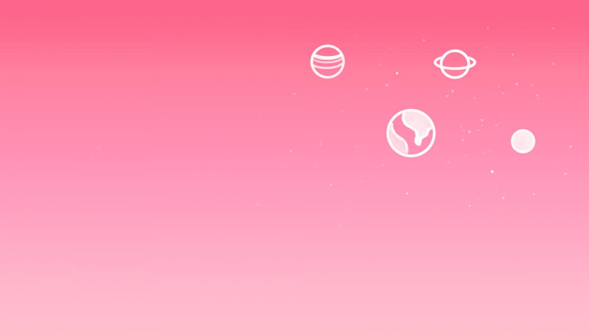 Розовый фон для ноутбука