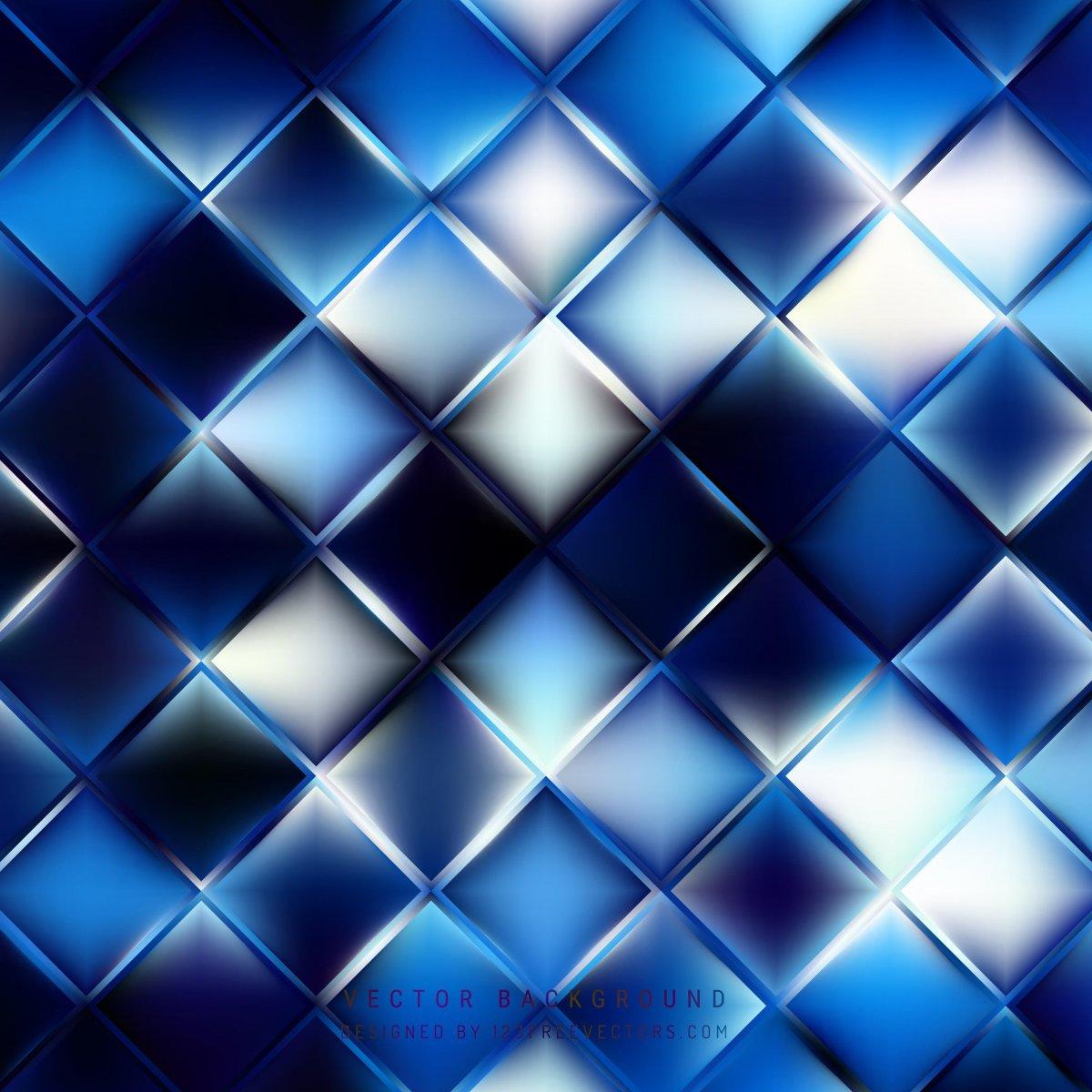 Синий фон прямоугольный