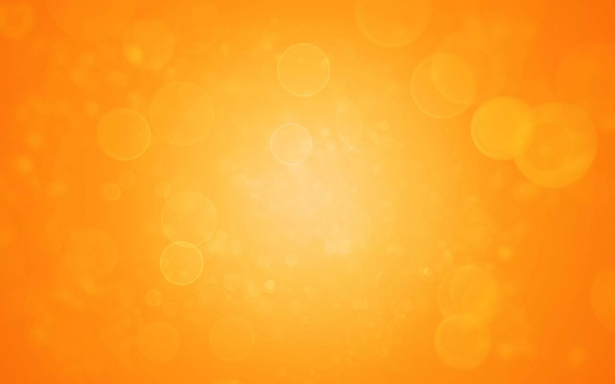 Приятный оранжевый фон