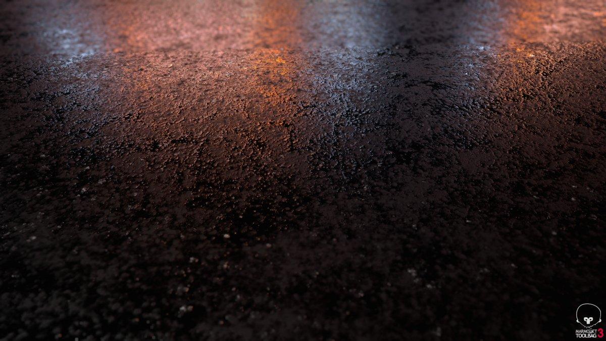 Мокрый асфальт цвет фон