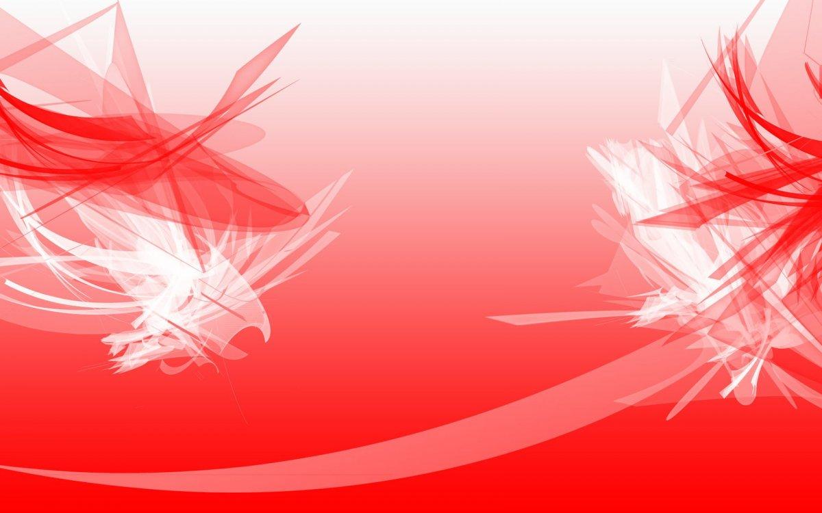 Красивый красно белый фон