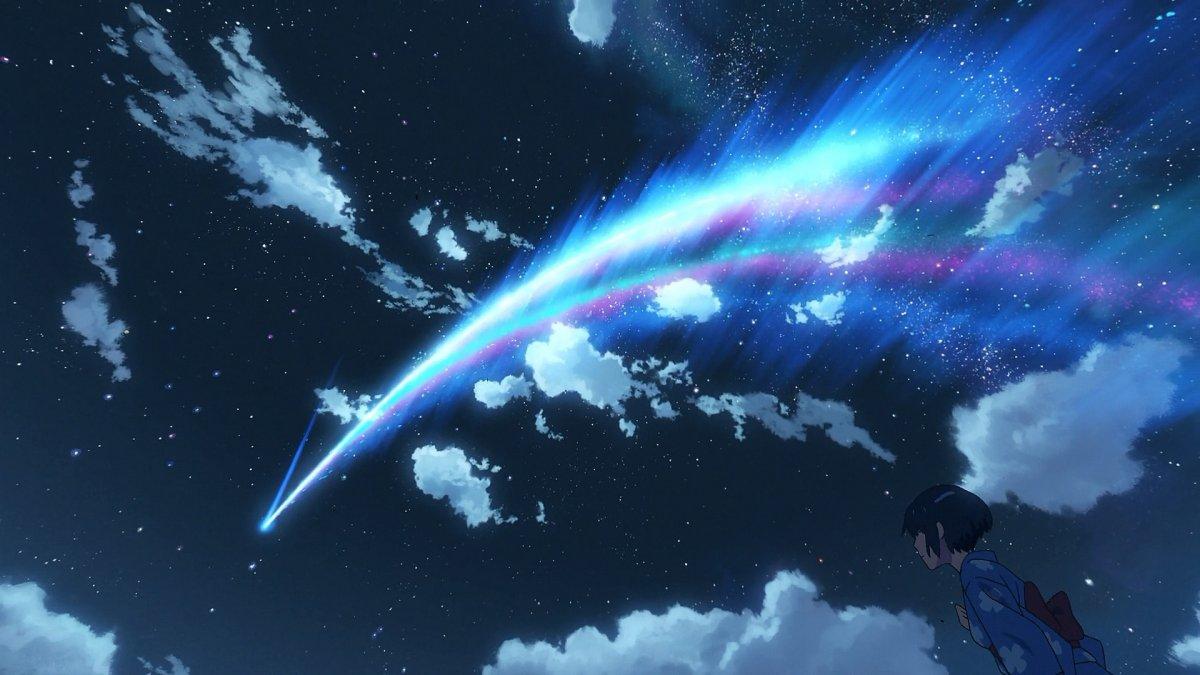 Комета из аниме твое имя