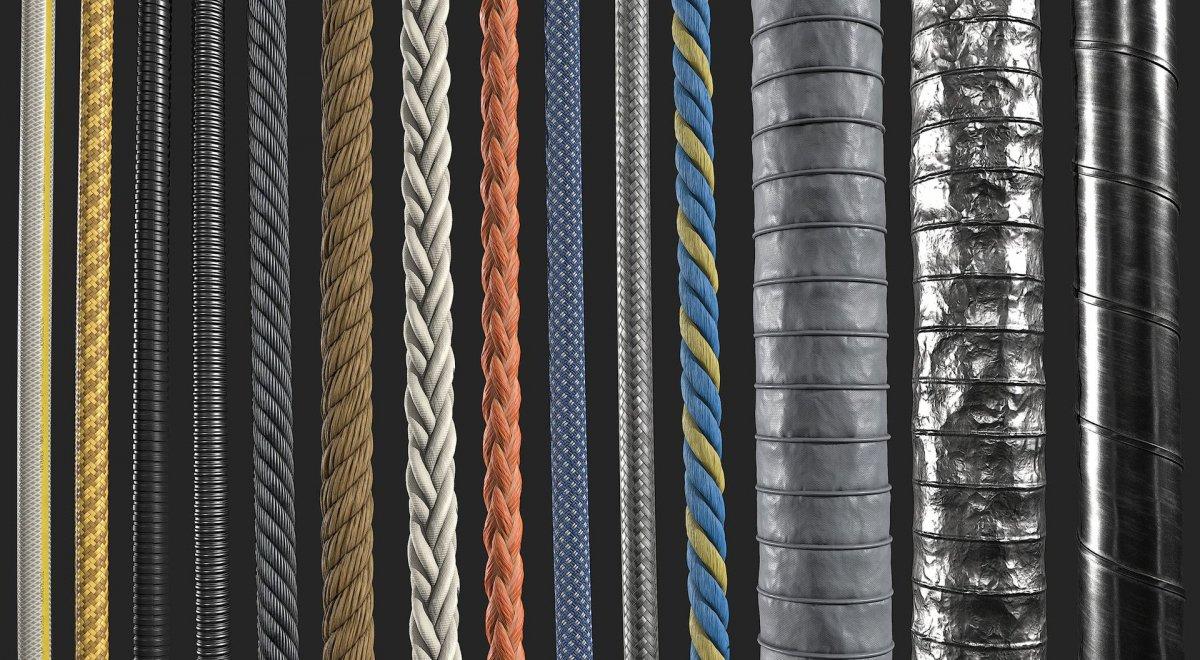 Оплетка кабеля текстура