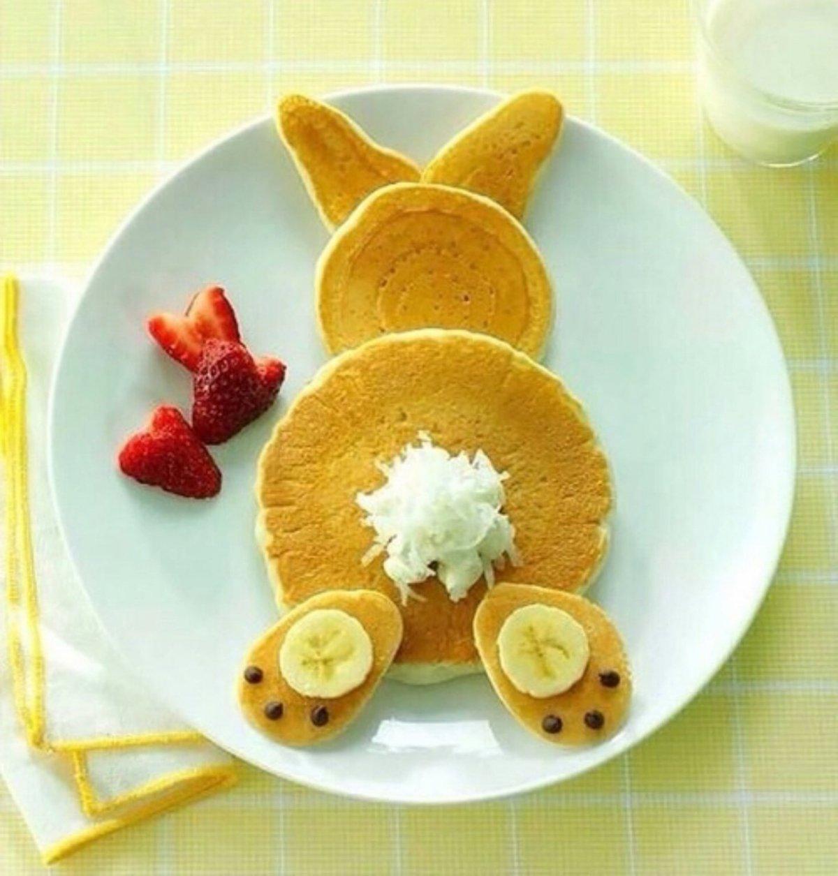 Фигурки из еды для детей