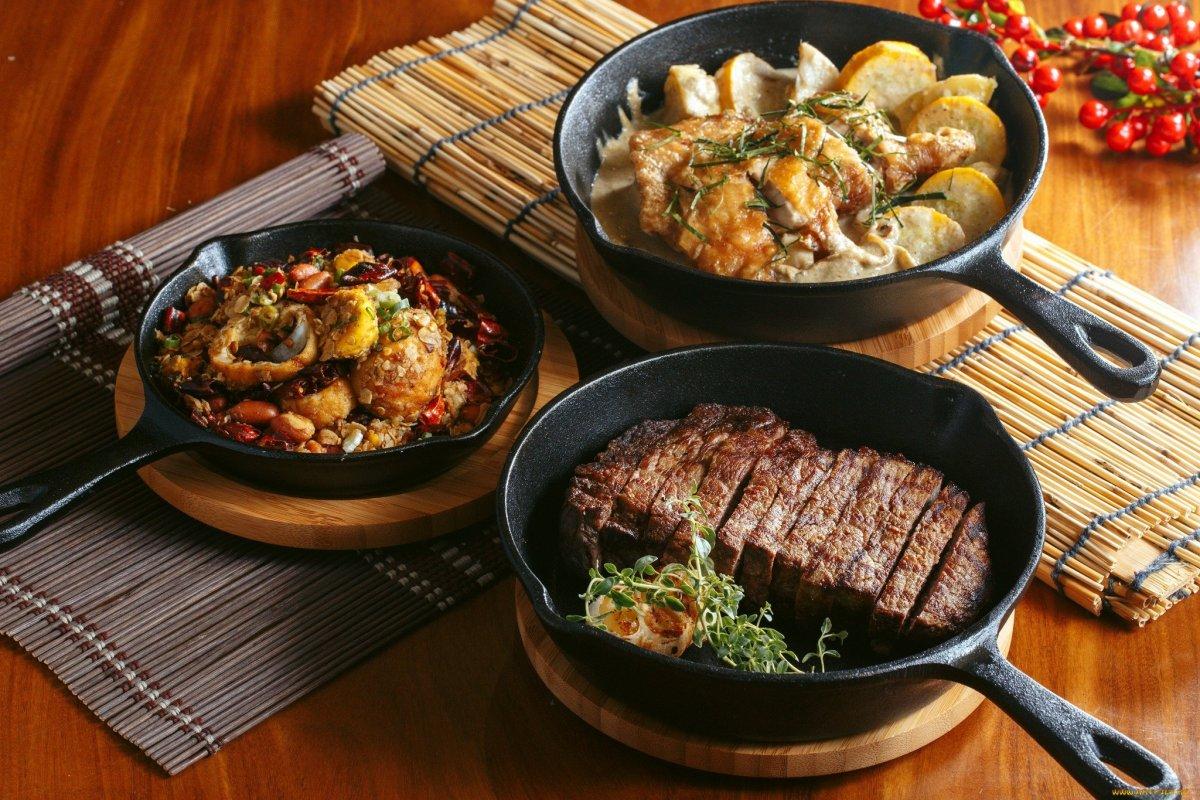 Домашние блюда из мяса