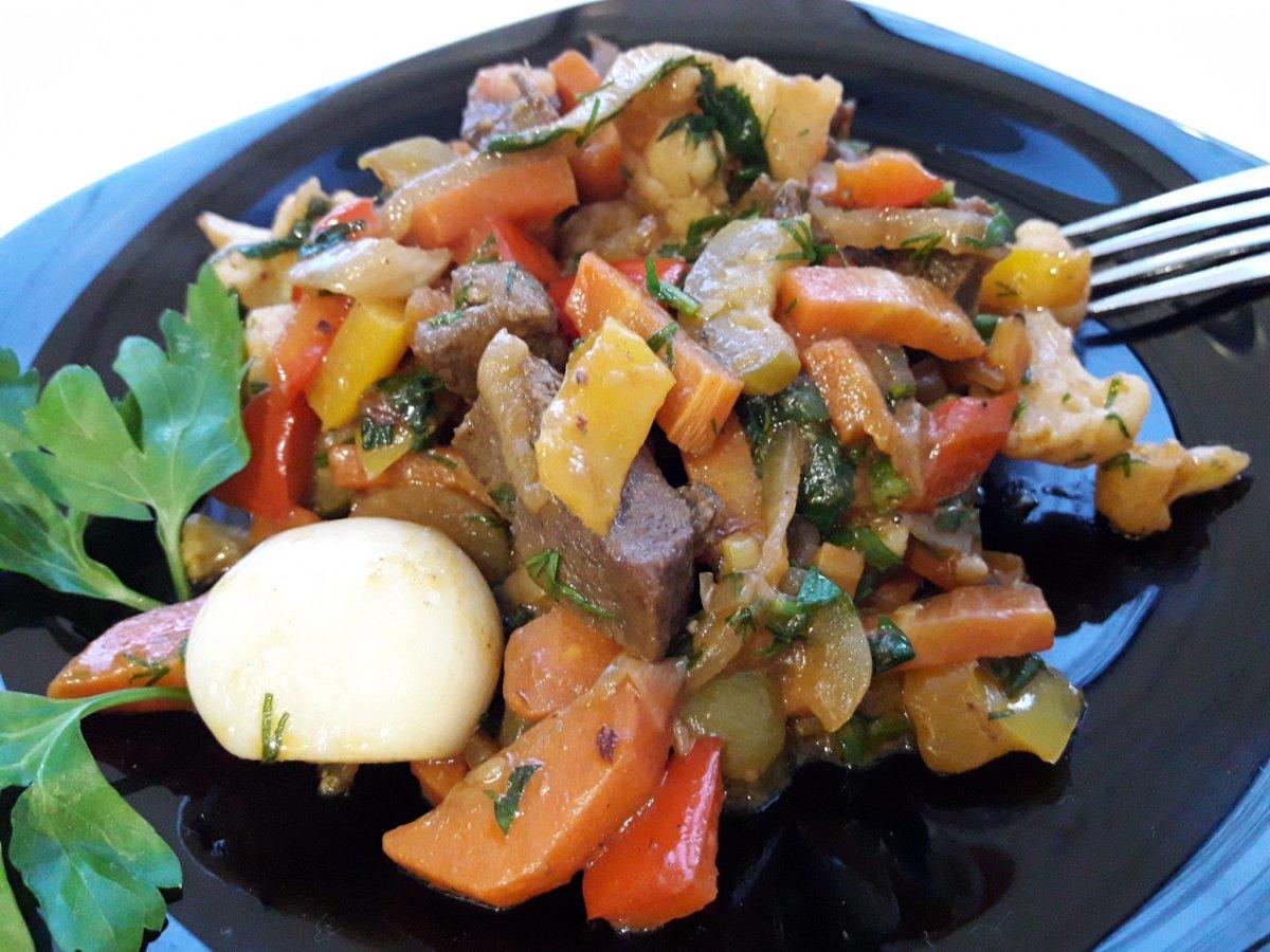 Рагу овощное домашние