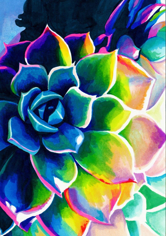 Поп арт цветы